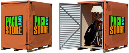 Pickering self storage containers