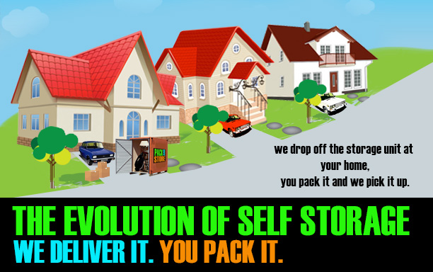 Toronto Self Storage: You Pack