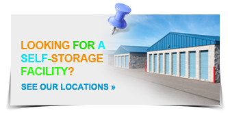 Looking for a self-Storage Facility? See Our Locations