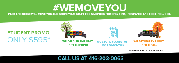 #we move you - pack and store will move you and store your stuff for 5 months for only $595, insurance and lock included.